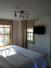 Provincetown cottage photo - Master Bedroom with King Bed and HDTV