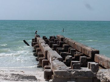 Pier at North End of Siesta Beach