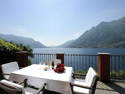 Pognana Lario villa rental - Breath taking lake views from Villa Nene