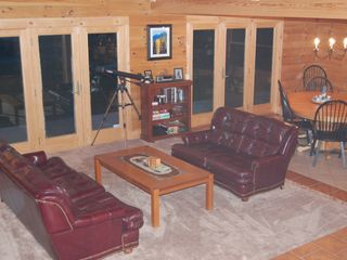 Ludlow house photo - Open Great Room with views to Okemo Mountain