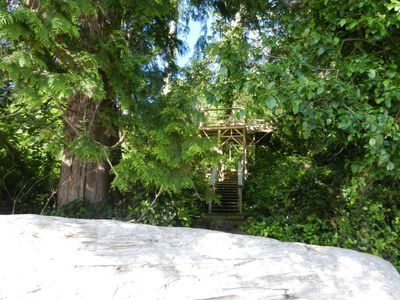 Sechelt house rental - Steps to beach access