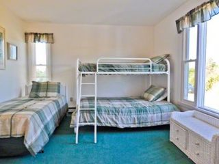 Katama house photo - Bedroom #3 - Has Bunk Bed With Twin & Full, Plus Twin Bed. Second Floor