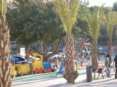 El Campello house rental - Play ground Coveta Fumá