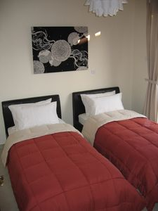 Kapparis villa rental - Twin Bedroom with Balcony