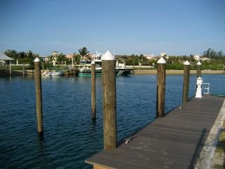 Grand Bahama Island villa photo - Boat Dock and Lighthouse