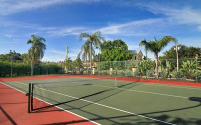Two Tennis courts--one on gulf side/one on bay side