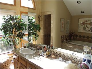 Vail house photo - Master Bathroom with Jacuzzi Tub
