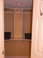 Palmetto Dunes condo photo - Walk-in closet in master bedroom. Great when you need more room!