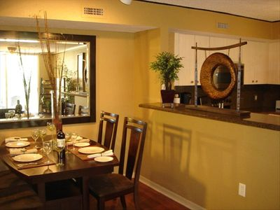 Dinning Room fully stocked to entertain