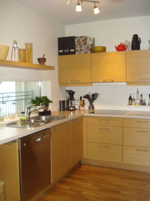 The kitchen is well equiped etc.dishwasher and microwave oven.