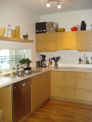 South Iceland apartment photo - The kitchen is well equiped etc.dishwasher and microwave oven.