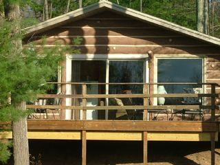 Quiet private cabin in the woods look homeaway for Michigan romantic cabins