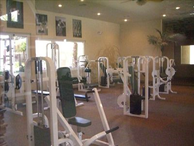Fully Equipped Workout Area