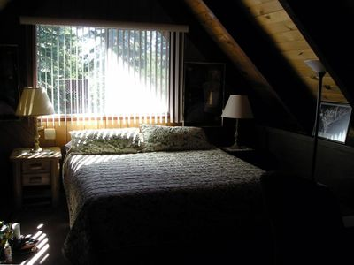 Bedroom with View of the Pines