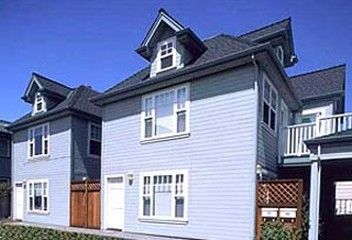 Exterior - Capitola Ocean  Mist is back unit of two unit townhouse