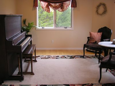 Music room for everyone's enjoyment