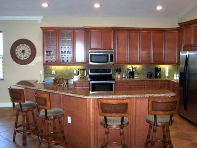 Fully Applianced Kitchen Ready for Your Use