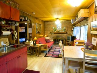Lisbon cabin photo - Cozy, Clean & Colorful Living Area w/full kitchen