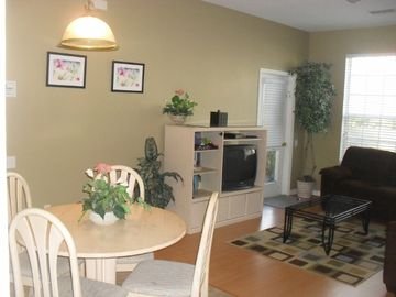 Open living space great for families!