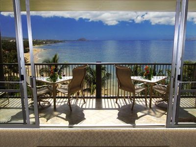 Kihei condo rental - Actual View from Inside the Condo
