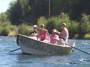 Fly fish on the Henry's Fork of the Snake or just enjoy a float with friends