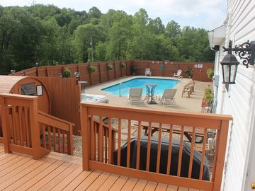 Hocking Hills lodge rental