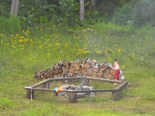 Newry cabin photo - Fire Pit