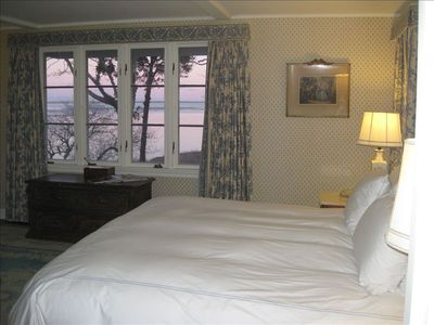 Master bedroom has harbor/water views. How about waking up to this!