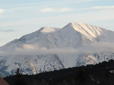 Glenwood Springs cabin rental - Views of Mt. Sopris from the Property