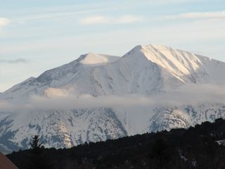 Glenwood Springs cabin photo - Views of Mt. Sopris from the Property