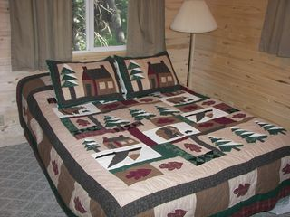 Bedroom 1 - Westcliffe cabin vacation rental photo