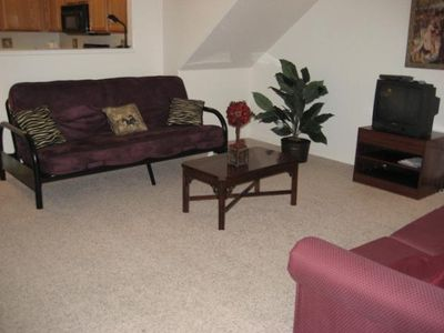 Living Room with two sleeper sofas