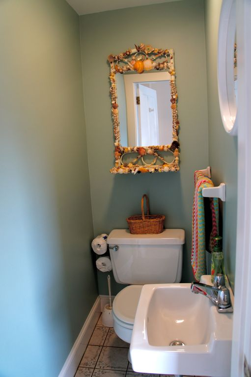 1st floor powder room
