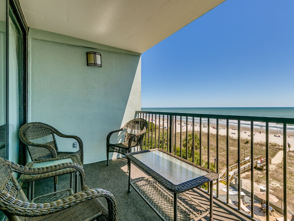Large Oceanfront Two Bedroom Two Bath Condo Vrbo