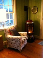 Chilmark house photo - An inviting corner of the living area...