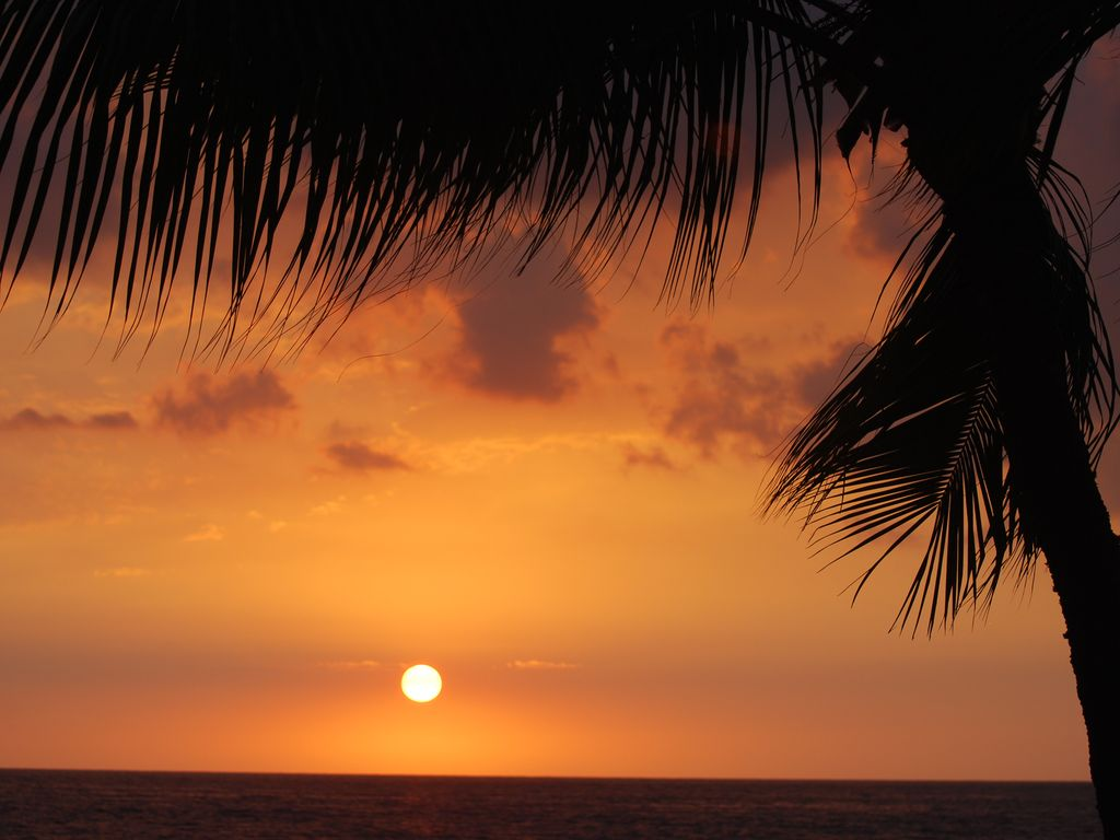 One of the many sunsets from your lanai
