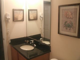 Encantada Resort townhome photo - Downstairs Bath with granite counter tops
