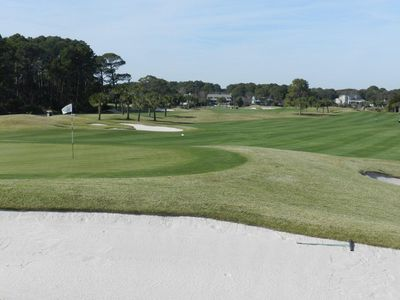 Robert Trent Jones golf course - Palmetto Dunes - adjacent to Hilton Head Resort