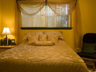 McAllen house photo - Country Suite has queen bed and private access.