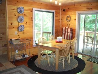 Ellijay cabin photo - Three Secluded Decks to View the Creek From!