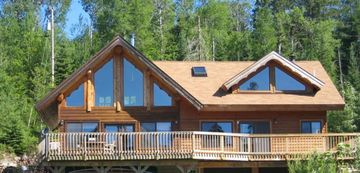 Ely cabin rental - Front of the Cabin