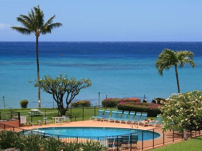 Enjoy your morning coffee with this view from the lanai!