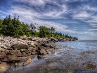 Pemaquid Point cottage rental - On the edge of John's Bay and the open Atlantic ocean