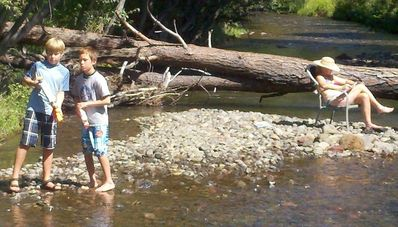 Summertime fun in Whychus Creek