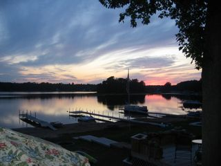 Muskegon cottage photo - Great Sunset!