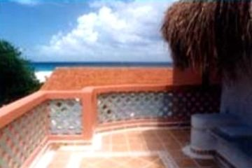Caribbean views and breezes from the third-floor terrace