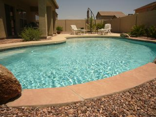 Casa Grande house photo - Relax and Enjoy your private Pool and Waterfall
