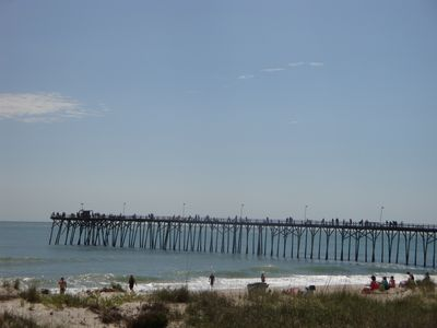 View of Kure Beach Pier
