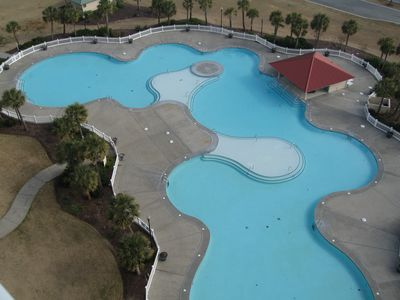 largest pool in myrtle beach located in barefoot and free for you to use