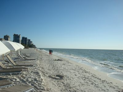 Clam Pass Beach, Naples- just minutes away. Gorgeous beach !